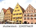rothenburg ob der tauber ... | Shutterstock . vector #1243576639