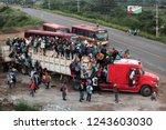 santo domingo ingenio  oaxaca...   Shutterstock . vector #1243603030