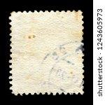 Vintage postage stamp on a...