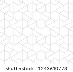 seamless linear pattern with... | Shutterstock .eps vector #1243610773