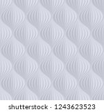 seamless background with 3d... | Shutterstock .eps vector #1243623523