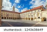 vilnius  lithuania   may 05 ... | Shutterstock . vector #1243638649