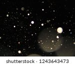 a night sky filled with spirit... | Shutterstock . vector #1243643473