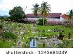 kuching  malaysia   october 14  ...   Shutterstock . vector #1243681039