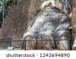 sri lanka sigiriya lion rock... | Shutterstock . vector #1243694890