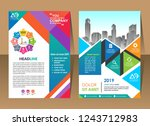 color scheme with city...   Shutterstock .eps vector #1243712983