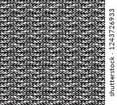 rough textile fabric of wool.... | Shutterstock .eps vector #1243726933