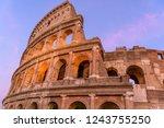 Sunset Colosseum   A Close Up...