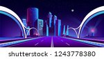 vector concept background with... | Shutterstock .eps vector #1243778380