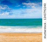 scenic view of nha trang beach ... | Shutterstock . vector #1243792240