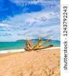 scenic view of nha trang beach ... | Shutterstock . vector #1243792243