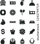 solid black vector icon set  ...   Shutterstock .eps vector #1243799719