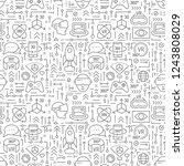 virtual reality pattern...   Shutterstock .eps vector #1243808029