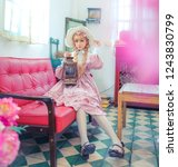 Lolita Girl In An Old Fashion...