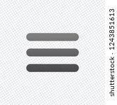 hamburger menu. web icon. on...