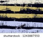 abstract grunge vector... | Shutterstock .eps vector #1243887553
