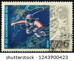 ussr circus 1971. postage...   Shutterstock . vector #1243900423