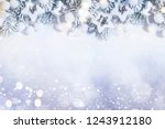 holiday background with... | Shutterstock . vector #1243912180