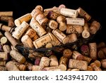 Old Cork Stoppers Of French...