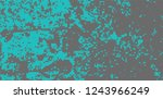 abstract halftone turquoise | Shutterstock .eps vector #1243966249