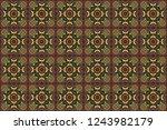 raster illustration. seamless... | Shutterstock . vector #1243982179