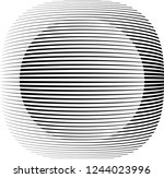 lines in circle form . spiral... | Shutterstock .eps vector #1244023996