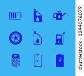 motor icon. motor vector icons... | Shutterstock .eps vector #1244076079