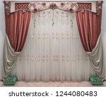 design of the interior in the... | Shutterstock . vector #1244080483