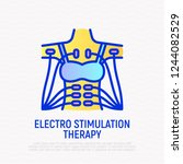 electro stimulation therapy...   Shutterstock .eps vector #1244082529