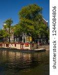 amsterdam  holland   august 5... | Shutterstock . vector #1244084806