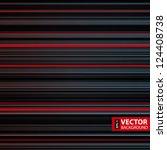 abstract retro striped gray ... | Shutterstock .eps vector #124408738