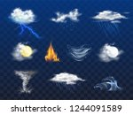 day  night weather forecast... | Shutterstock .eps vector #1244091589