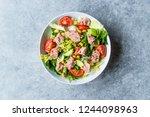 Tuna fish salad with lettuce ...