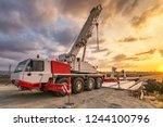 Crane Trucks In The...