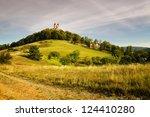 autumn calvary in banska...   Shutterstock . vector #124410280
