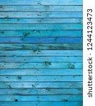 blue wood texture background...   Shutterstock . vector #1244123473