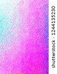 illustration of abstract purple ... | Shutterstock . vector #1244135230