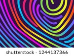 abstract trendy background with ...   Shutterstock .eps vector #1244137366