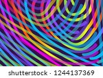 abstract trendy background with ... | Shutterstock .eps vector #1244137369