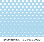 snowflakes seamless pattern.... | Shutterstock .eps vector #1244176939
