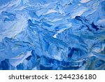 abstract painting. painting... | Shutterstock . vector #1244236180