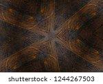 texture of brazilian rosewood ... | Shutterstock . vector #1244267503