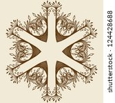 ornament card  backgrounds | Shutterstock .eps vector #124428688