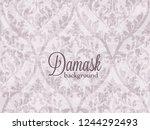 vintage baroque ornament...   Shutterstock .eps vector #1244292493