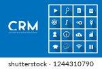 vector infographic. customer...   Shutterstock .eps vector #1244310790