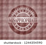 misappropriate red seamless... | Shutterstock .eps vector #1244354590