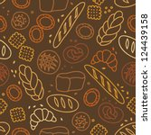 Seamless Pattern With Bakery...