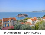 scenic view of saint stephen ... | Shutterstock . vector #1244402419