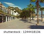 spain  leora de mar   october 3 ... | Shutterstock . vector #1244418136