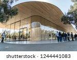 cupertino  ca   usa   october... | Shutterstock . vector #1244441083